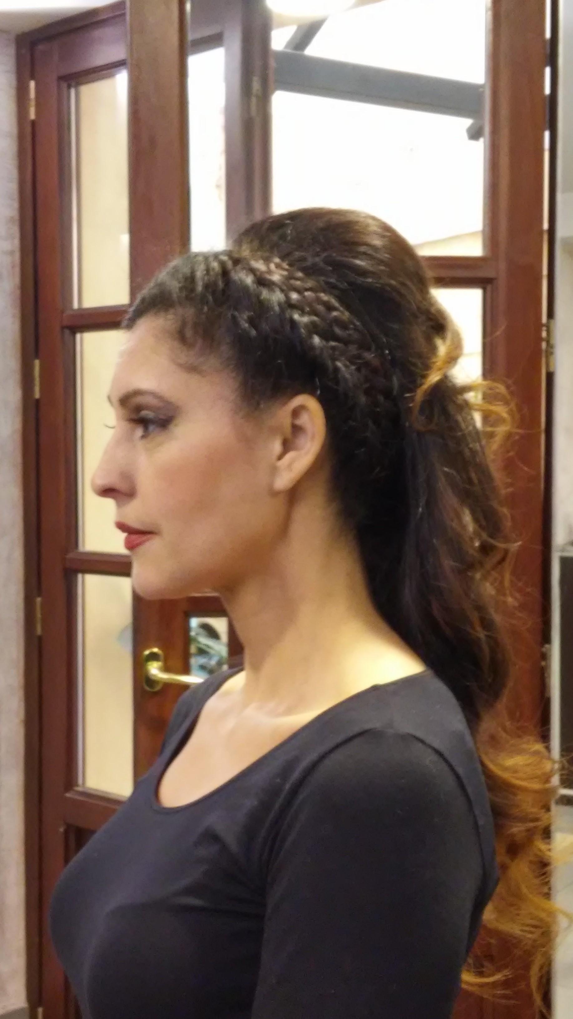 Peinado novia granada